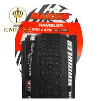 Ban Luar Sepeda Balap Road Bike Gravel Maxxis Rambler 650x47B 650 x 47