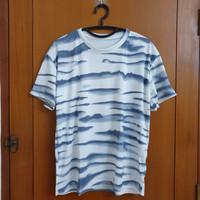 Army T Shirt Pria / Wanita Kaos Loreng Adem Nyaman Size XL Extra Besar
