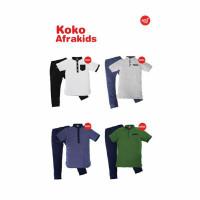 Baju Koko Anak Satu set Afrakids