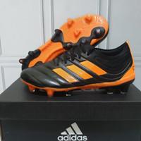 Sepatu Bola Adidas Copa 20.1 Black Orange Premium Quality