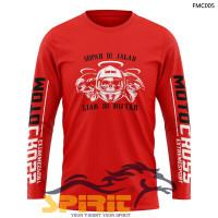 Atasan Kaos Motor CROSS Trail   Baju Motor CROSS cowok Lengan Panjang