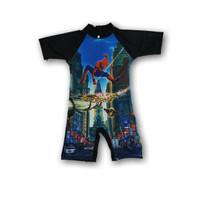 baju renang anak TK - SD diving anak laki laki Tayo tobot spiderman