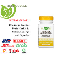 Nature Way Choline Inositol 500 mg (100 Ca) Suplement Memori Alzheimer