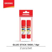 GREEBEL Lem Putar/Glue Stick 1908 (8gr) (2PCS/SET)
