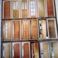 4,pcs daun pintu ( kayu mahoni mulus )