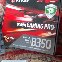Ryzen 7 1700 vs MSI B350M Gaming Pro AM4 Motherboard B350
