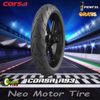 BAN MOTOR NINJA/R25/CBR CORSA R93 PLATINUM 160/60 RING 17 TUBELESS