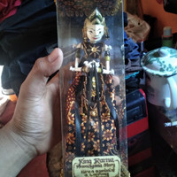 King Rama Ramayana Story - Pajangan miniatur Wayang Golek