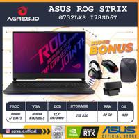 Asus ROG G732LXS I78SD6T i7 10875 32GB 2TBssd RTX2080S W10 300Hz 17.3