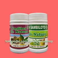 OBAT KENCING MANIS Kering Basah Herbal UNDIBET SAMBILOTO De Nature