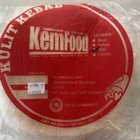 Tortilla / Kulit Kebab Kemfood Ukuran Mini 20cm / Besar 25cm