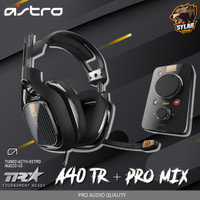Astro A40 TR + Pro Mix AMP Gaming Headset with Detachable Microphone