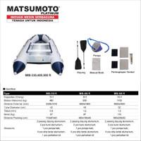 Perahu Karet Matsumoto MIB-400 R Kapasitas 8+1 Orang Inflatable Boat