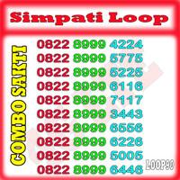 NOMOR CANTIK SIMPATI LOOP PERDANA CANTIK TELKOMSEL LOOP 4G [ LOOP07 ]