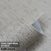 LINEN LIGHT MUSE - KERTASIVE PVC INTERIOR FILM - 60 CM