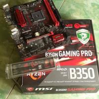MSI B350 B350M Gaming Pro AM4 Motherboard for Ryzen 7 2700X