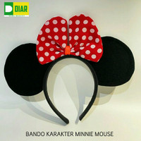 Bando Anak - Karakter Minnie Mouse Disneyland