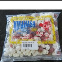 Kacang goyang khas Manado Sulawesi Utara Merk Minahasa dan Merk MU