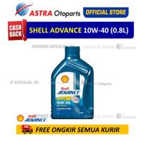 Shell Advance AX7SC 10W40 0.8 L untuk Motor Matic
