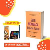 BUKU SENI MEMBACA BAHASA TUBUH - BRIGHT PUBLISHER - (BONUS PENSIL 2B)
