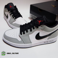 Nike Air Jordan 1 Low Light Smoke Grey (100% Authentic)