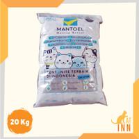 Pasir Gumpal Kucing Mantoel - 20 Kg