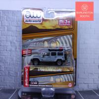 AW 1:64 Autoworld MiJo Jeep Wrangler Rubicon Grey Roof Rack Auto World