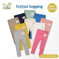 Royale Bebe Legging Bayi Buka Kaki Size 12-24 Bulan - Cotton Legging