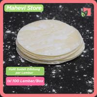 Kulit Dimsum / Gyoza / Dumpling Premium Hand Made 100% Halal Isi 100