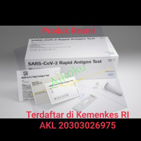 ROCHE SD BIOSENSOR Swab Antigen isi 1 box 25pcs Original
