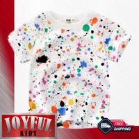 Baju Anak laki-laki / Kaos Anak Perempuan MOTIF LUKISAN 1 - 10 Tahun