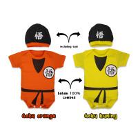 jumper bayi goku /baju bayi goku/jumper bayi karakter