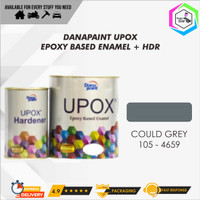 Cat Lantai Epoxy UPOX Dana Paint Floor Coatings - 4659 Could Grey