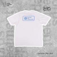 T-SHIRT BADGER - BASIC CAPT WHITE