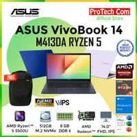 LAPTOP ASUS A412DA - RYZEN 5 3500U 8GB 512GB SSD VEGA 8 14 FHD W10