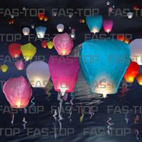 Sky Lantern Lentera Lampion Terbang Harapan Wish CAP GO ME IMLEK