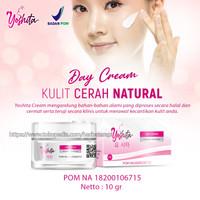 Yoshita day cream whitening golwing with collagen
