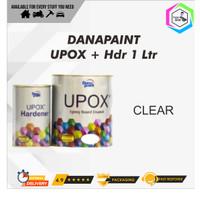 Cat Lantai Epoxy UPOX Dana Paint Floor Coatings - CLEAR