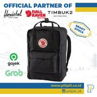 Tas Ransel Laptop 15 Kanken Classic ORIGINAL Black Backpack