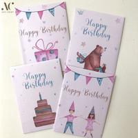 (isi 4) Amplop Angpao Kado Ulang Tahun Birthday Gift Envelope