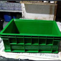 42x28x16 Box Container Green Leaf 2245 P Bak Industri Kolam Ikan 2245P