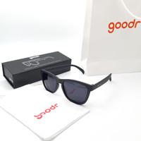 Kacamata original goodr og running sunglasses Polarized - Hitam