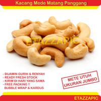 Kacang Mede 1 Kg Kacang Mete Panggang Cashew Nuts Roasted Original - 1 kg