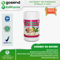 Obat Diabetes Kering De Nature - UNDIBET ORI 100% Herbal