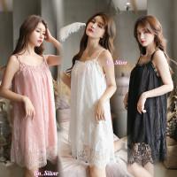 Daster / Baju Tidur Cantik Wanita Premium Melar L XL XXL Jumbo Big Siz