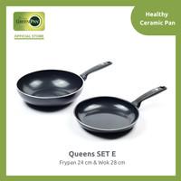 Queens GreenPan Set E 2 pcs