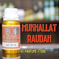 Bibit parfum ARAB ORIGINAL MUKHALLAT RAUDAH 100ml (BANAFA FOR OUD)