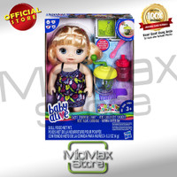 Baby Alive Sweet Spoonfuls Baby Doll Food Golden Hair Mainan Original
