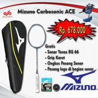 Promo Raket Badminton Mizuno Carbosonic ACE ( Yonex BG 66 )