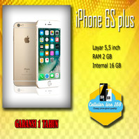 Iphone 6S Plus 16Gb Rose Garansi Distributor 1 Tahun